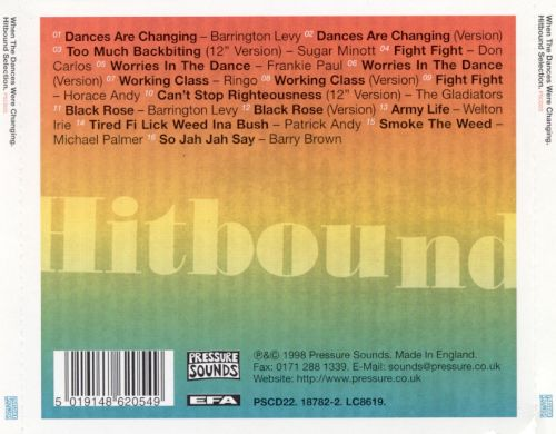 When the Dances Were Changing: Hitbound Selection