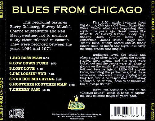 Blues from Chicago [Blues Legends]