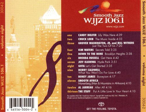 WJJZ 106.1: Smooth Jazz Sampler, Vol. 8