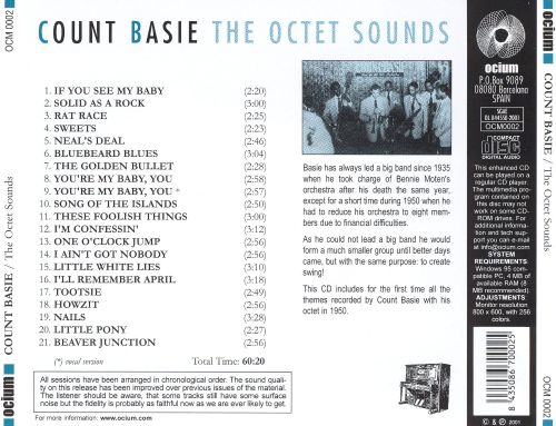 The Octet Sounds: The Complete Octet Studio Record