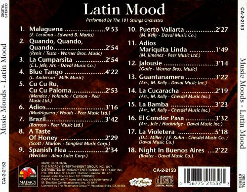 Cigar Aficionado: Latin Mood