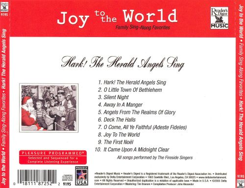 Joy to the World: Hark! The Herald Angels Sing
