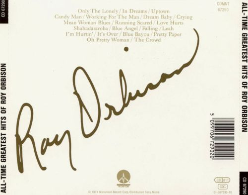 The All Time Greatest Hits of Roy Orbison [DCC]