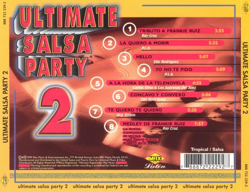 Ultimate Salsa Party, Vol. 2