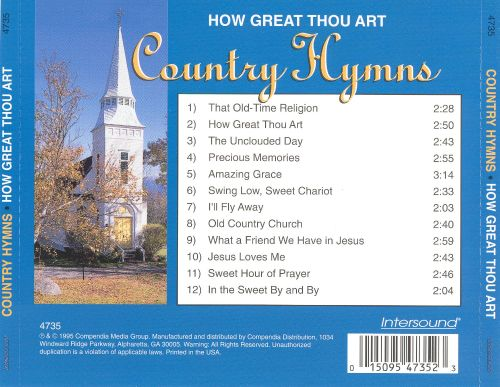 Country Hymns: How Great Thou Art