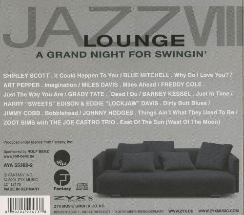 Jazz Lounge, Vol. 8