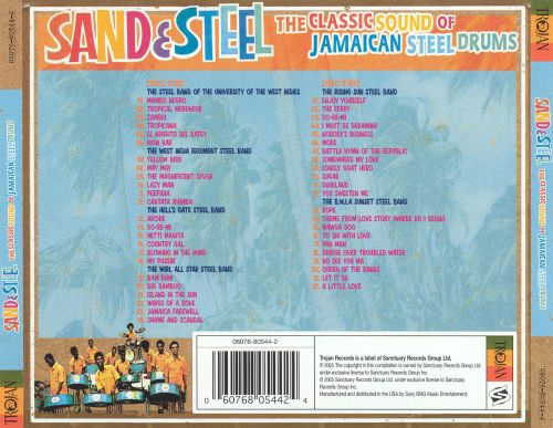Sand and Steel: The Classic Sound of Jamaican Steel Bands