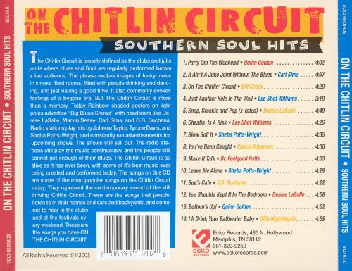 On the Chitlin Circuit: Southern Soul Hits