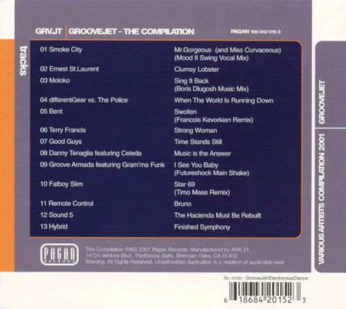 Groovejet: The Compilation