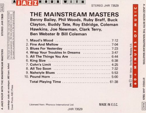 Mainstream Masters