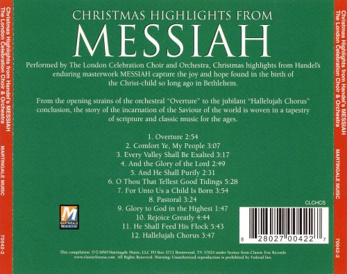 Christmas Highlights, Handel's Messiah