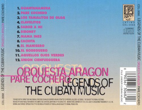 Legends of Cuban Music, Vol. 8
