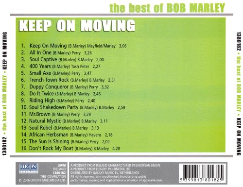 The Best of Bob Marley: Keep on Moving