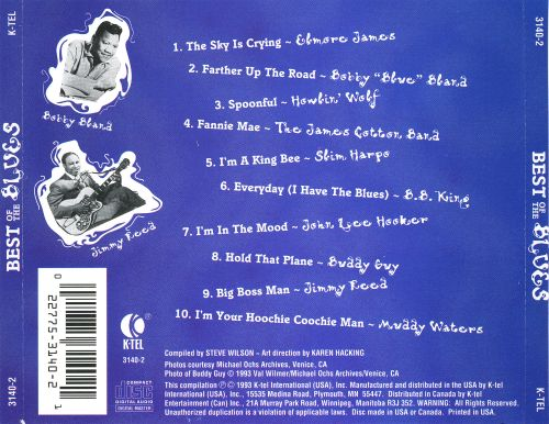 The Best of the Blues [Columbia/K-Tel]