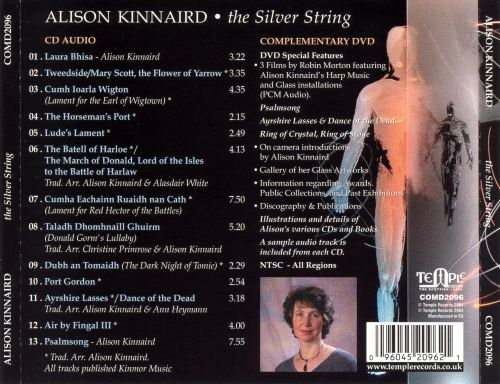 The Silver String: Music and Imagery of the Scottish Harp