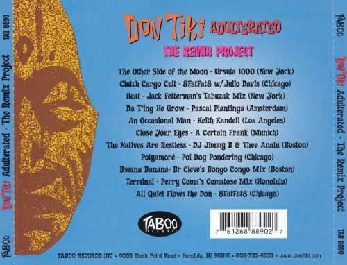 Don Tiki Adulterated - The Remix Project