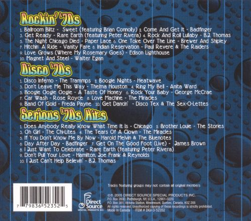 Best Of The 70s Direct Source 3 CD