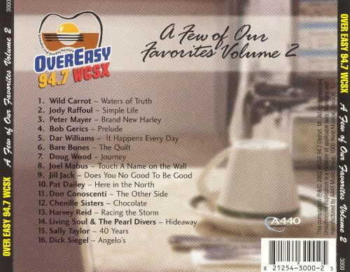 Over Easy 94.7 WCSX a Few of Our Favorites, Vol. 2