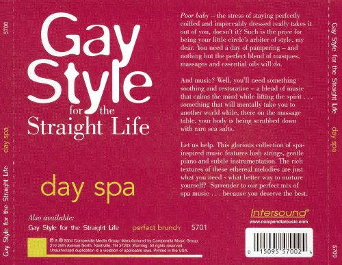 Gay Style for the Straight Life: Day Spa