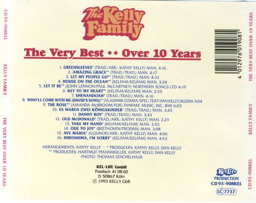 The Very Best of the Kelly Family
