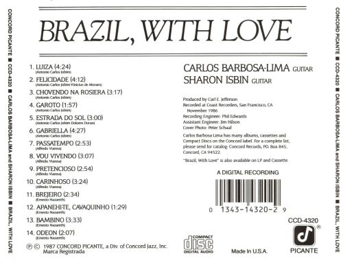 Brazil, with Love