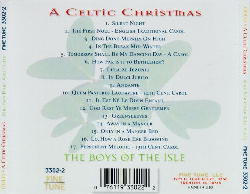 Celtic Christmas: Traditional Airs for Harp & Flute