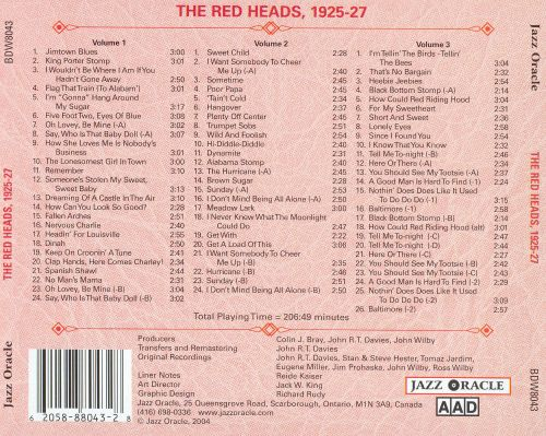 Red Heads 1925-27