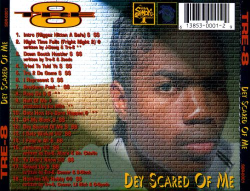 Dey Scared of Me