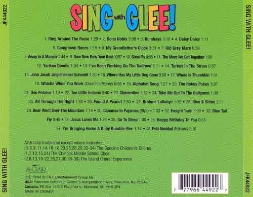Songs Just for Kids: Sing With Glee!