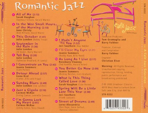 Romantic Jazz [Stradivari]