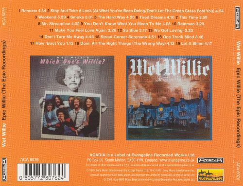 Epic Willie (The Epic Recordings)