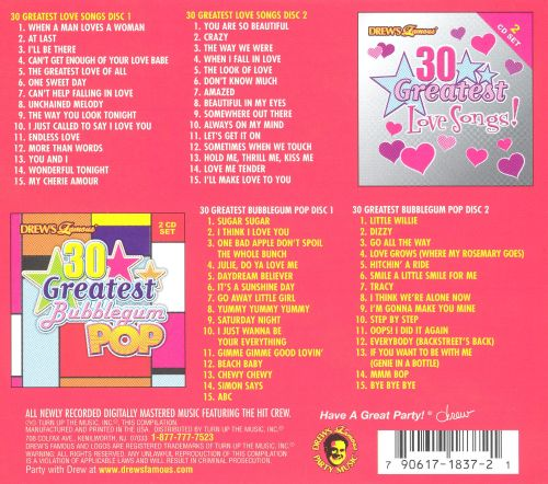 60 Greatest Love and Bubblegum Pop