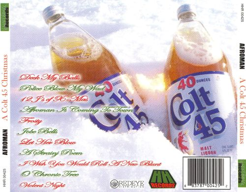 A Colt .45 Christmas - Afroman | Songs, Reviews, Credits | AllMusic