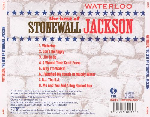 Waterloo: The Best of Stonewall Jackson