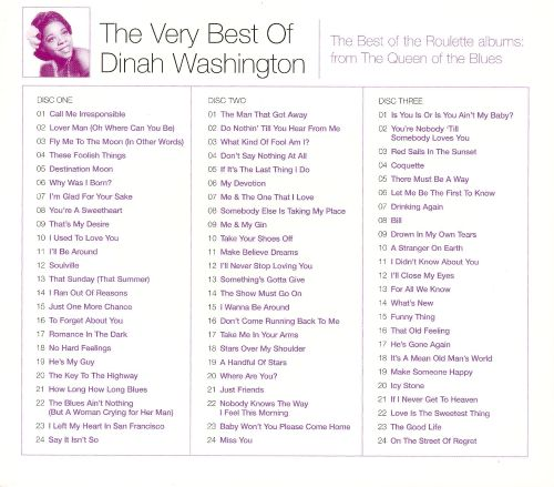 The Very Best of Dinah Washington [EMI]