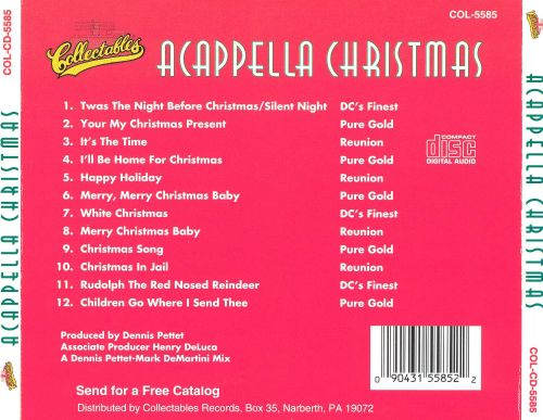 Acappella Christmas [Collectables]
