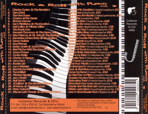 Rock and Roll With Piano, Vol. 8