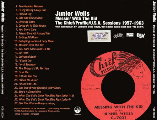 Messin' with the Kid: The Chief/Profile/U.S.A. Sessions 1957-1963