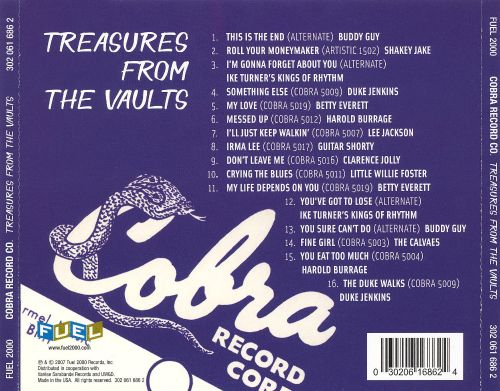 Treasures from the Vault of Cobra Records