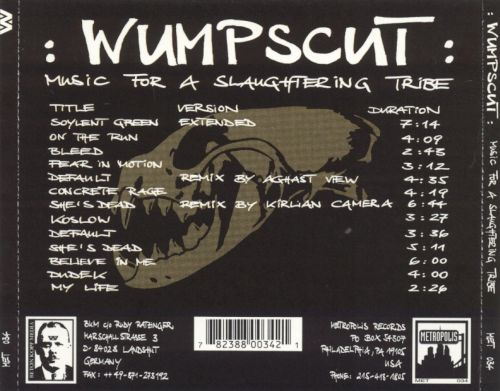 Music for a Slaughtering Tribe
