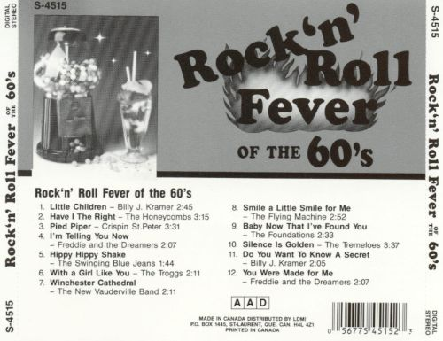 Rock 'N' Roll Fever of the Sixties, Vol. 1