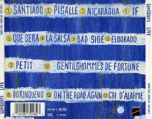 Live: On the Road Again 1989
