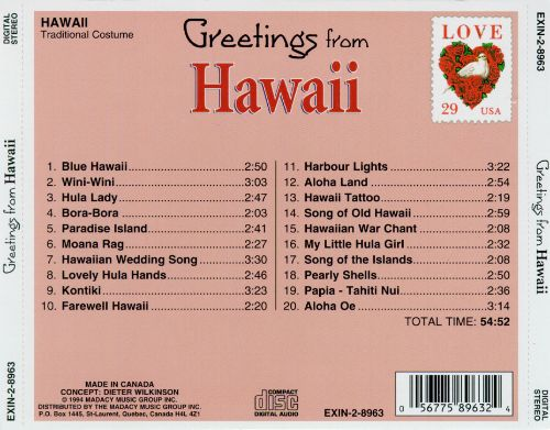 Greetings from hawaii excelsior various artists songs reviews greetings from hawaii excelsior greetings from hawaii excelsior m4hsunfo