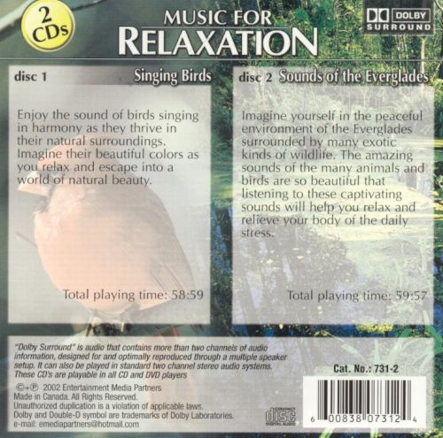 Music for Relaxation: Singing Birds/Sounds of the Everglades