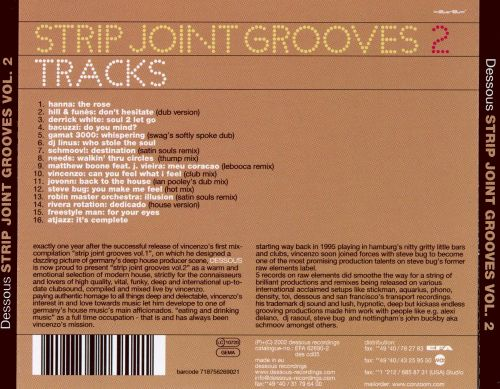 Strip Joint Grooves, Vol. 2