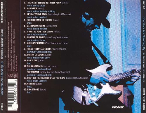 Operators Are Standing by: The Essential Gary Lucas 1989-1996