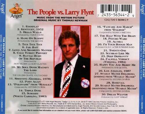The People Vs. Larry Flynt [Music from the Motion Picture]
