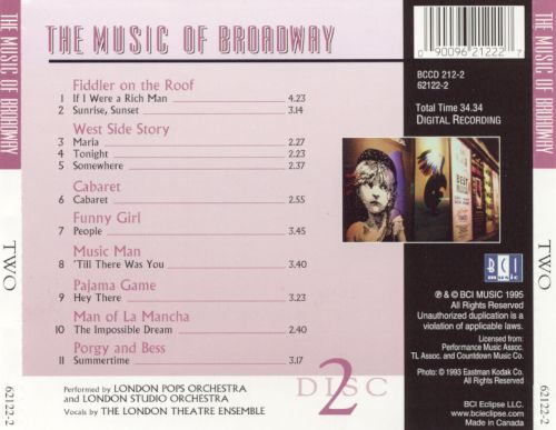 The Music of Broadway, Vol. 2