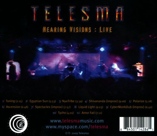 Hearing Visions: Live