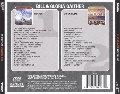 heaven going home bill gaither songs reviews credits allmusic. Black Bedroom Furniture Sets. Home Design Ideas